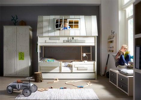Abenteuerbetten machen aus dem Kinderzimmer ein Spielplatz