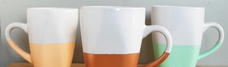 Die eigene Kaffeetasse kreativ gestalten