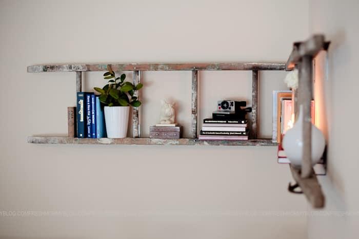 Creative Book Shelf Ladder