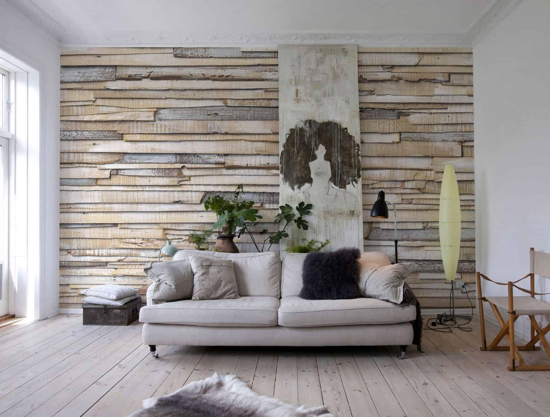 Eine Neugestaltung von Wänden gelingt mit Tapeten besonders schnell