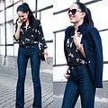 Bootcut-Jeans passen hervorragend zu rustikalen Stiefeln, aber auch zu eleganten Pumps© The Day D.