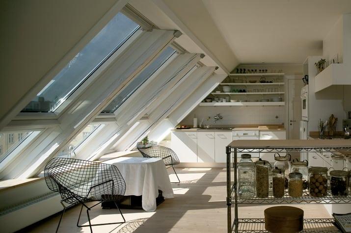 Vor allem in Dachwohnungen praktisch: die Hitzschutzmarkise