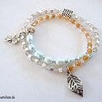 Mit verschiedenen Perlen lassen sich kreative Armbänder selbst gestalten© kreativliste.de