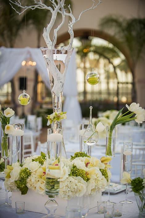 Dekoration zur Hochzeit