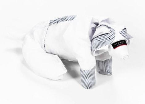 Die textile Faltkunst kann ganz einfach mit Hilfe eines Tutorials nachgemacht werden