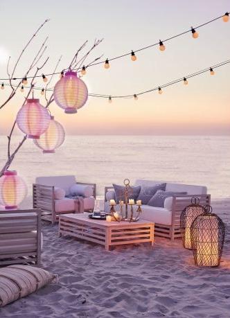 Lampions und Windlichter sind unkomplizierte Stimmungsmacher auf der Terrasse und im Garten