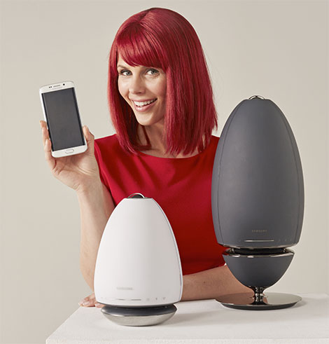 Die Wireless Audio 360 Lautsprecher R6 und R7 bieten 360-Grad-Rundum-Klang