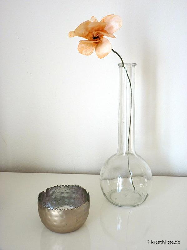 diy blumen basteln die sehen aus wie echt kreativliste. Black Bedroom Furniture Sets. Home Design Ideas