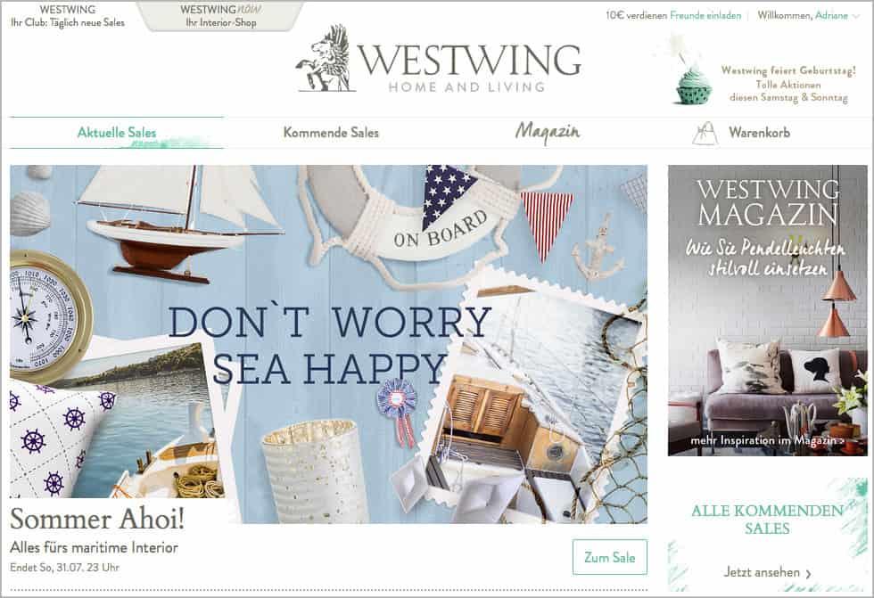 Westwing bietet wunderbare Ideen für das Zuhause