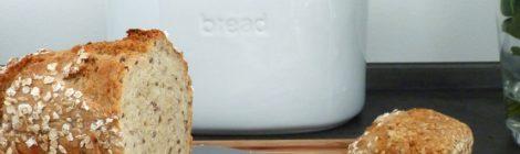 Rezept für ein schnelles Brot mit Körnern