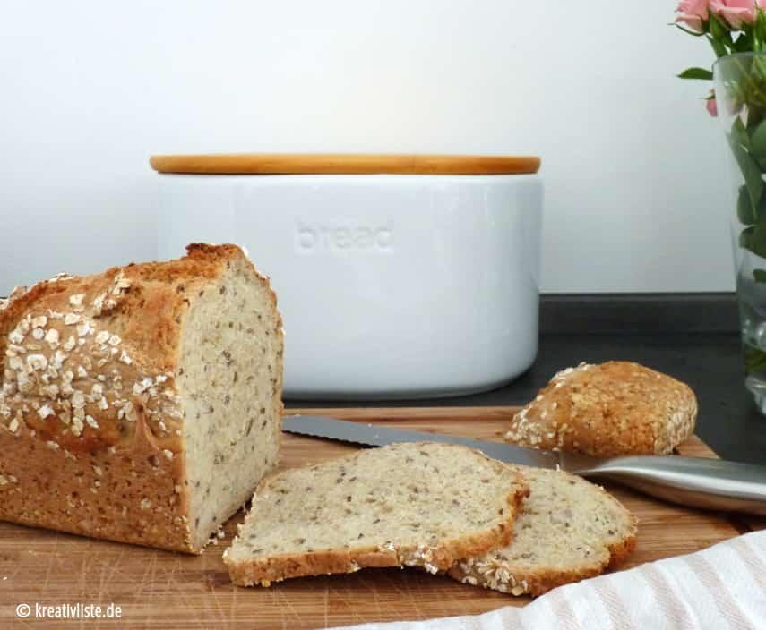 Das Brot lässt sich einfach schneiden und ist ganz und gar nicht trocken