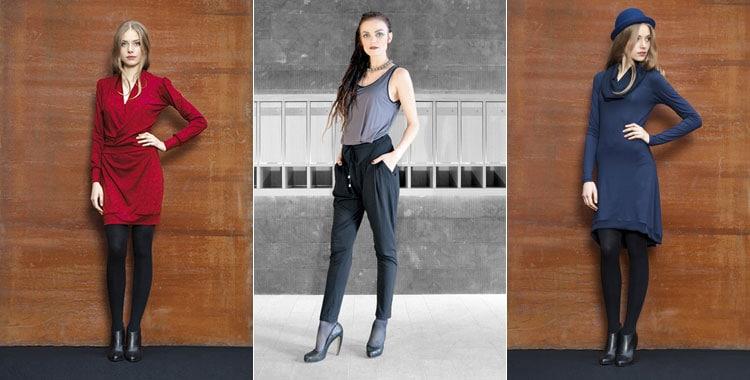 Modern, elegant und weiblich - Designermode von Janna Lenartz