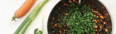 Linsensalat Rezept - schnell und einfach