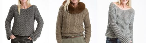 Cashmere-Pullover im angesagten Grobstrick