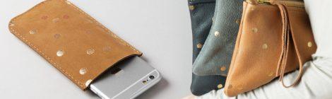 Punkte und Leder - eine unwiderstehliche Kombination