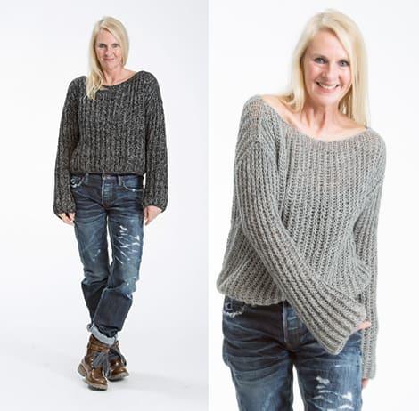 Cversized Cashmere-Pullover