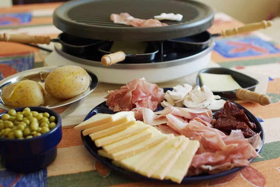 Raclette Zutaten Inspirationen