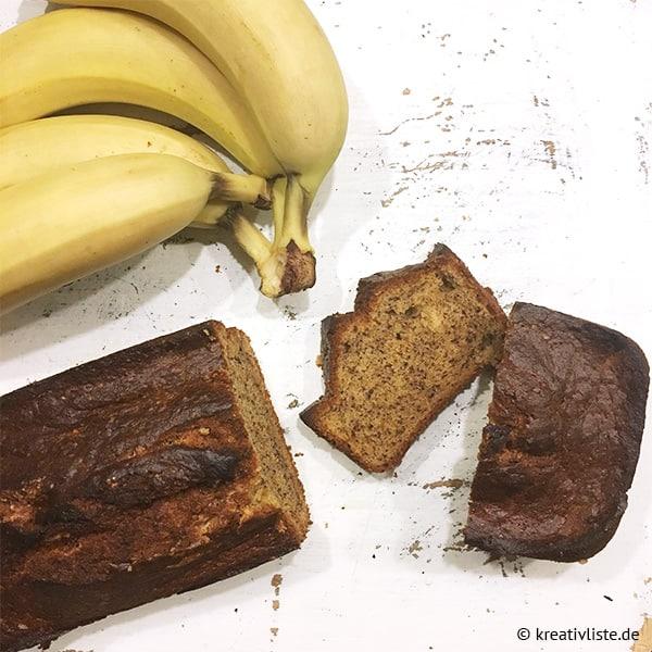 Bananenbrot backen
