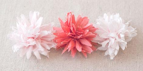 Bevorzugt Papierblumen basteln aus Krepppapier, Seidenpapier DV76