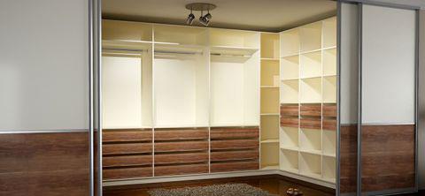 kleiderschrank individuell gestalten mit ma gefertigen. Black Bedroom Furniture Sets. Home Design Ideas