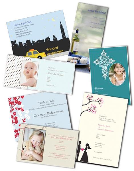 Fesselnd Einladungskarten Individuell Gestalten Und Drucken Lassen