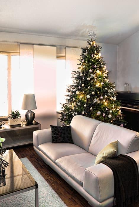 weihnachtsbaum schm cken 10 inspirationen. Black Bedroom Furniture Sets. Home Design Ideas
