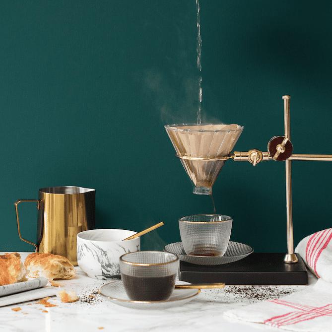 Kaffee stilvoll zubereiten