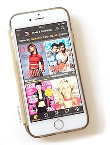 Mit der App Readly hat man Zugriff auf verschiedene Zeitschriften