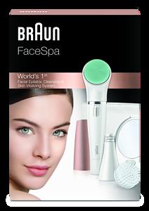 Tiefenreine Haut dank Braun FaceSpa