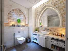 Badezimmer mediterran einrichten