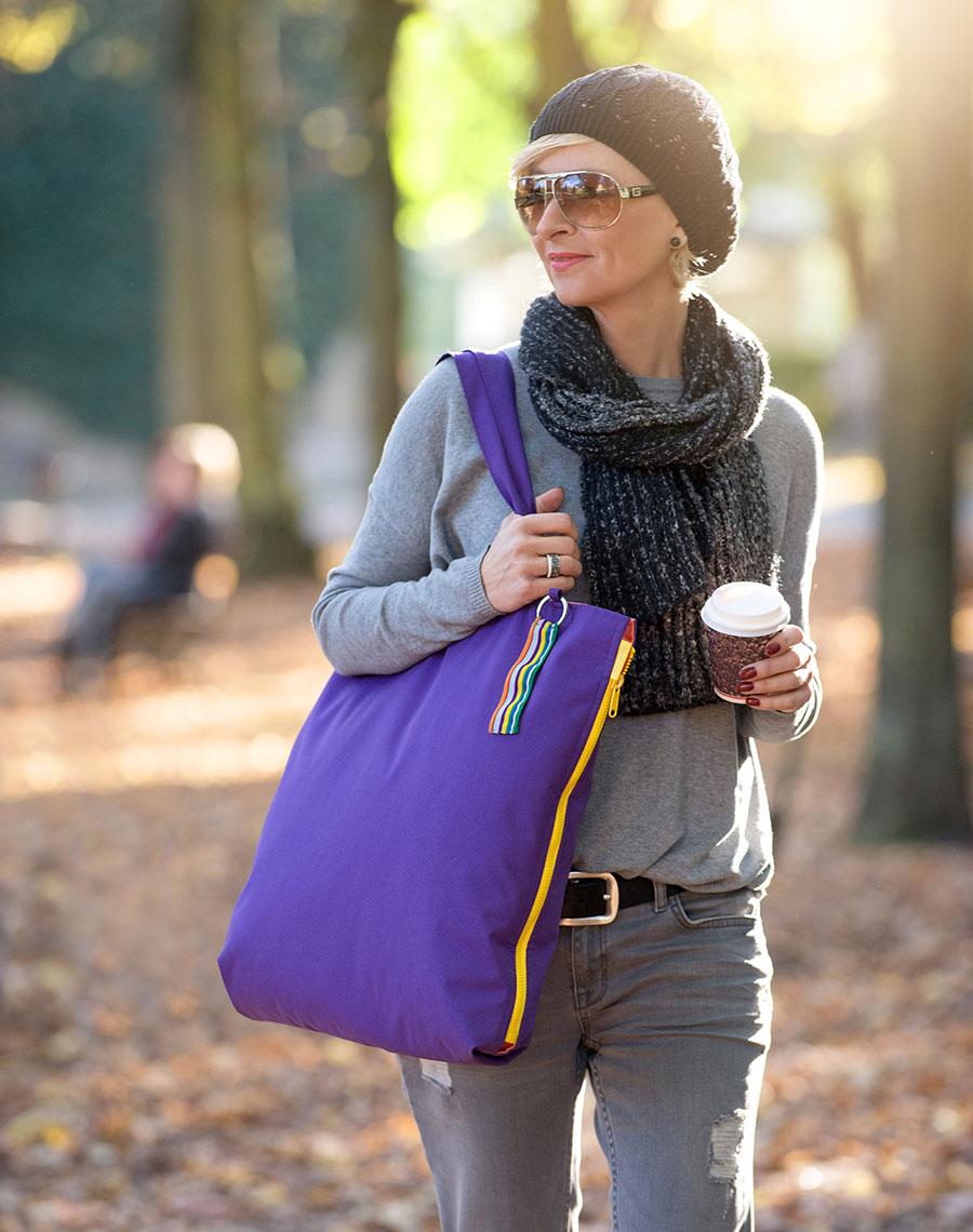 Flexible Tasche als originelle Geschenkidee