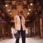 Blazer ganz elegant zur Culotte tragen