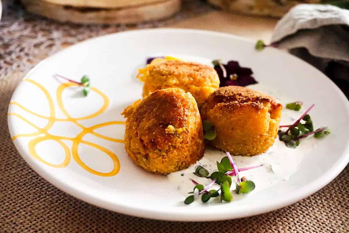 Karotten Falafel