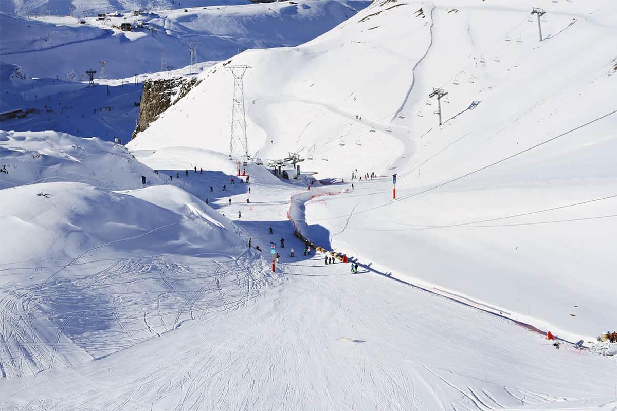 Zum Skifahren gibt es in Frankreich viele Möglichkeiten
