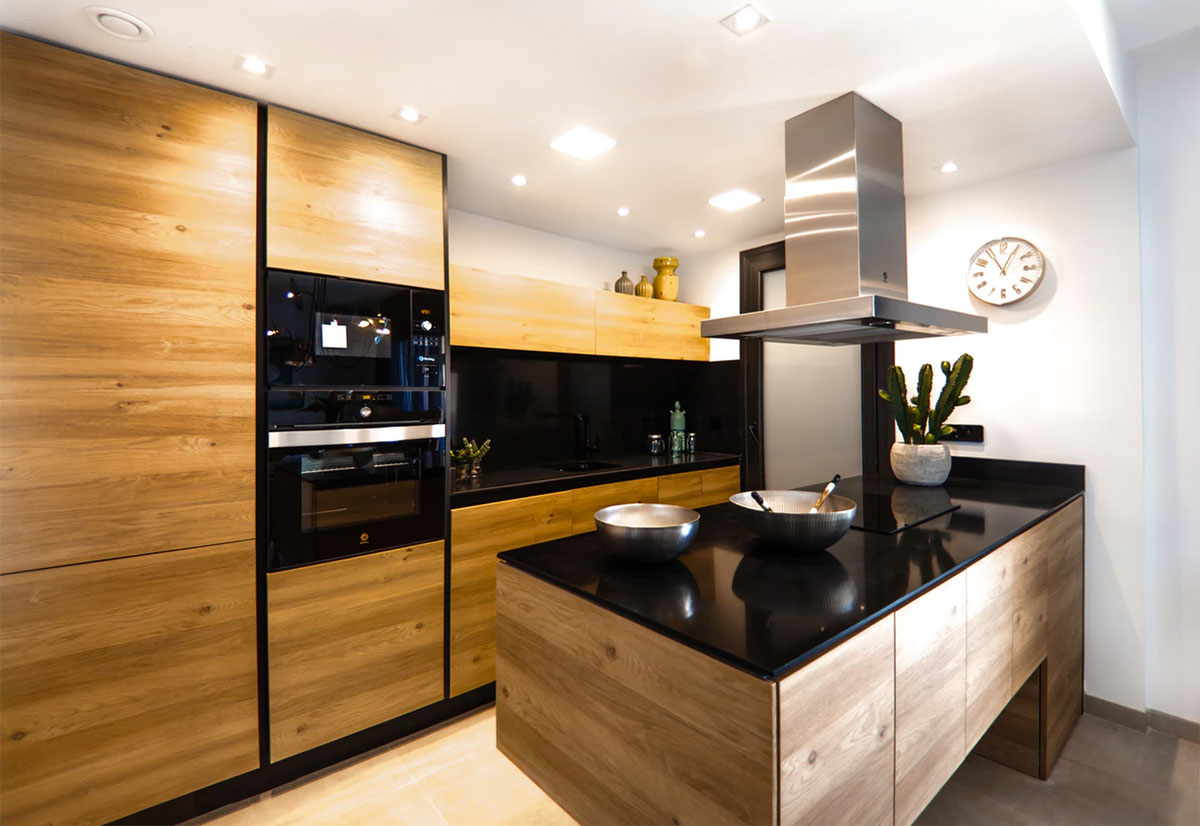 Moderne Küchen brauchen ab und zu auch ein technisches Update