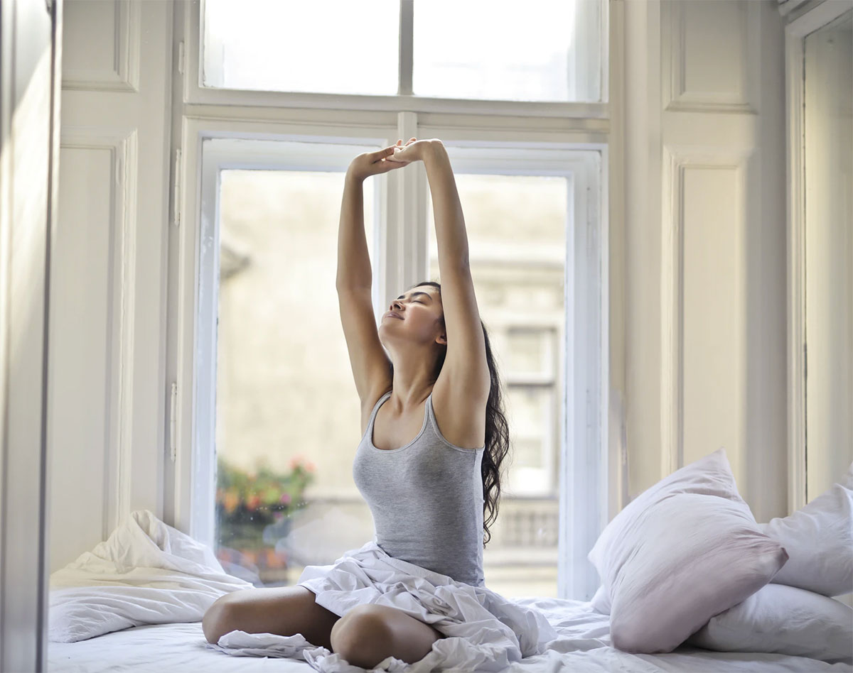 Ein guter Schlaf hängt auch von der richtigen Matratze ab