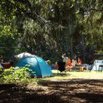 In Deutschland ist das Zelten nur auf ausgewiesenen Plätzen erlaubt