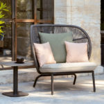 Vincent Sheppard Kodo Cocoon Lounge Chair with Seat Cushion