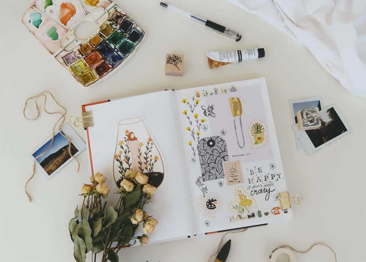 Stressabbau durch kreative Gestaltung