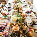 Tischdecke mit Platzsets