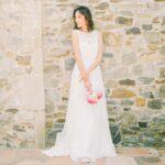 Das perfekte Brautkleid ist oft klassisch und schlicht