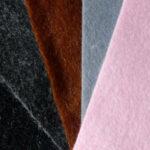Diese Filzfarben hat Anna und bei der Farbwahl für die Nüstern angeboten