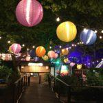 Lampions schmücken deinen Garten