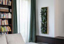 Immergrüne Pflanzenbilder als beeindruckende Wanddekoration